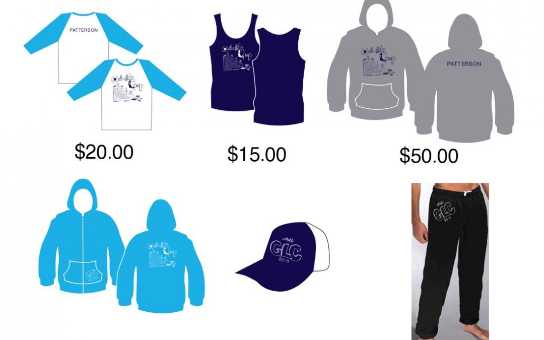 2013 Camp Merchandise for Sale!
